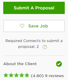 Upwork payment method verified client_ green checkmark
