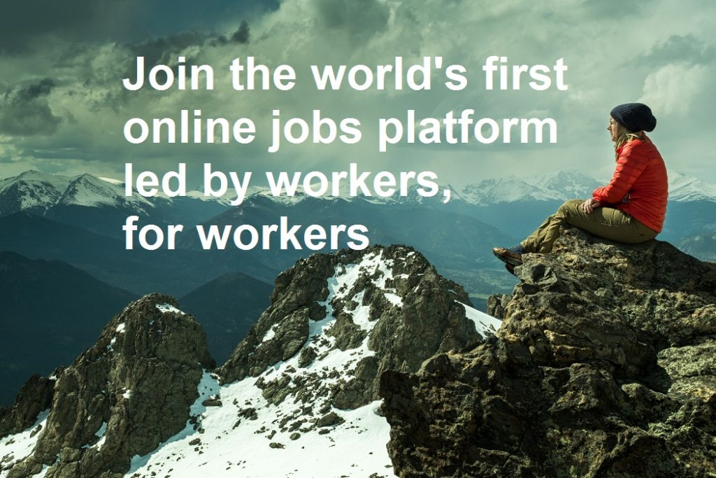 PlatformX, world's first-and-only fair online jobs platform of its kind